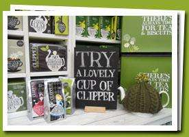 Free tea sample @ clipper tea