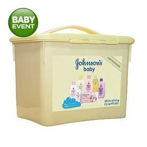 Johnson's Baby Limited Edition Skincaring Essentials (box) was £10 now £4 instore @ ASDA