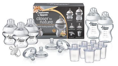 Tommee Tippee Closer To Nature Bottle Feeding Starter Kit £5 @ Asda