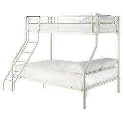 Tesco Direct Mika Trio Bunk Bed Frame (Vanilla) £49.50 + Delivery from £5