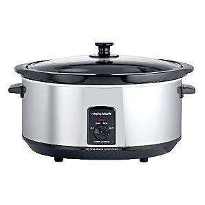 Morphy Richards 48715 6.5L Oval Stainless Steel Slow Cooker for £20.00 @ Asda direct