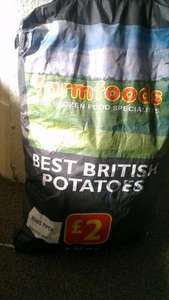 7.5kg of maris piper potatoes £2 @ farmfoods