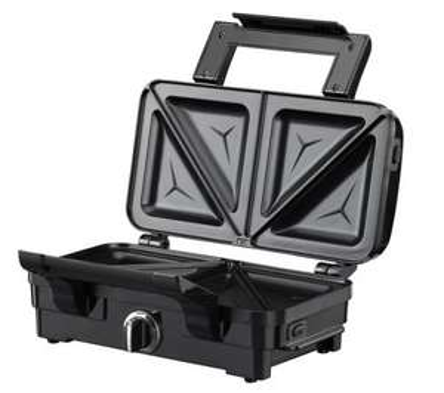 WARING PROWOSM2U Deep Fill Sandwich Toaster - Gloss Black & Stainless Steel £26.25 @ Currys