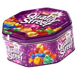 BIG TIN (1.25KG) of Quality Street Chocolates £7 @ Morrisons