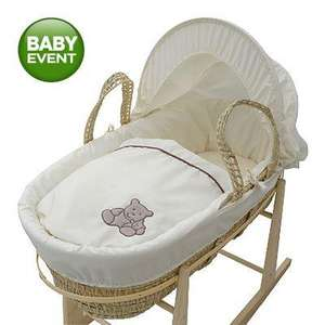 Kinder Valley Tiny Ted Moses Basket @ Asda  Instore £12.50