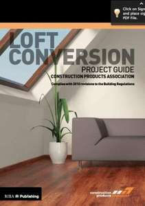 Loft Conversion Project Guide Free eBook download from publisher constructionproducts.org.uk £28.45 @ Amazon