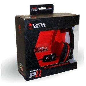 Turtle Beach Ear Force P11 Amplified Stereo Gaming Headset PS3/PC BRAND NEW £28.00 @ Amazon