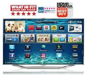 "Samsung 55"" ES8000 Price matched John Lewis £1835, 5 year Warrenty, free Galaxy tab2"