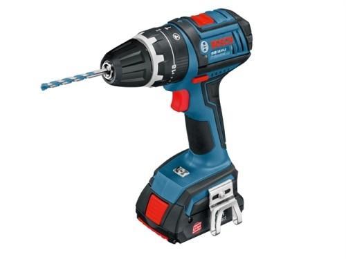 Bosch GSB 18 V-LI Premium Cordless Drill 2 x 3ah Li-on + L Box - BigRed Toolbox.co.uk - £179 delivered