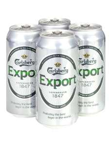 Carlsberg Export 4 x 440ml cans £2.79 at Lidl