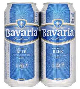 4 x Bavaria Lager 5% just £3 at Bargain Booze