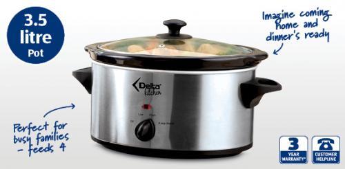 Delta Kitchenware 3.5L Slow Cooker - £13.99 @ ALDI