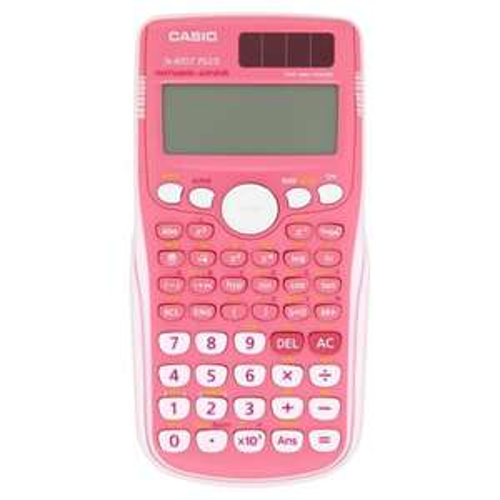 Casio fx-85GT PLUS-pk Scientific Calculator in pink instore at Tesco for £2