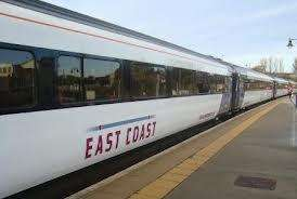 Eastcoast trains to London from £12.50