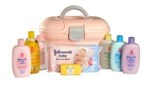 Johnson's Baby Skincaring Essentials box in PINK now £16.00 @ CONCORDEXTRA.COM