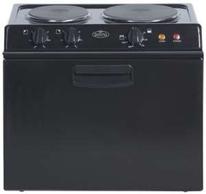 Belling 321RB Freestanding Electric Cooker in Black for £187.95 @ Electric shop