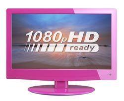 "Logik L19LDVP11 19"" HD Ready Digital LED TV with DVD Player - Pink £59.91 @ Currys/Ebay"