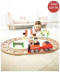 Happyland Country train set £19 @ ELC