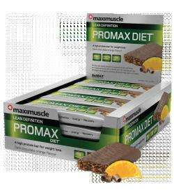 SHORT DATED OCT 2012 - 12 x Maximuscle Promax diet protein bars £11.69 @ thesupplementstore