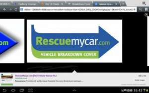 Breakdown Cover From Just £17.90 With Rescue My Car