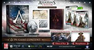 Assassins creed 3 - Join or Die edition (preorder) for Wii U £34.99 @ Ubisoft