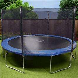 B&M 12Ft  and 8FT Trampolines with enclosure £50.00 + 30.00 instore ONLY @ B&M