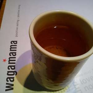 FREE Drink at Wagamama (green tea free of charge with meals on request)