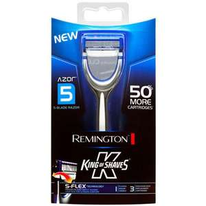 King of Shaves Azor 5 Blade with 15 Replacement Cartridges, £9.99 zavvi ebay outlet