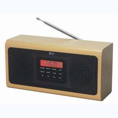 Onn Wooden DAB Radio £15.00 @ Asda instore