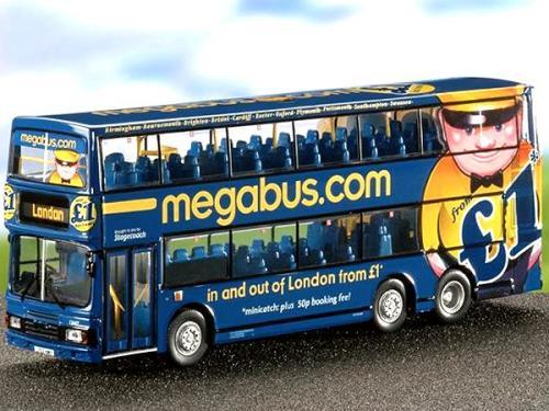 Oxford to London on Oxford Tube (via megabus) from £1 @ Megabus