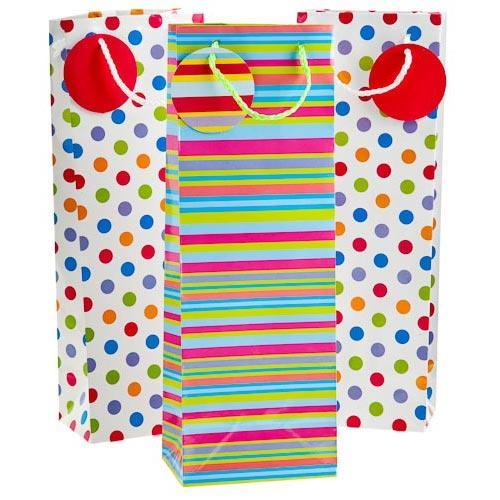 Bottle Gift Bags (3 Pack) @ PoundLand - £1.00