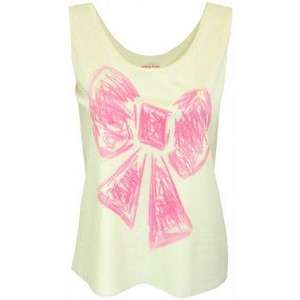 Hilary Laing Hand Painted Bow Vest Top for £24.00 @ Spoiled Brat