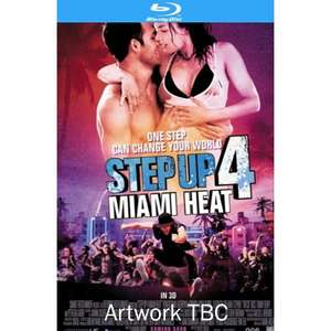 Step Up 4: Miami Heat (3D Blu-Ray) - £17.99 / £18 (Play/HMV)