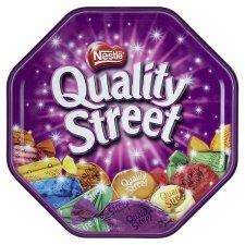 Quality Street (820g) Cadburys Roses Chocolates (850g) Cadburys Heroes (950g) Celebrations (855g) all reduced from £5.00 to £4.00 @ Tesco