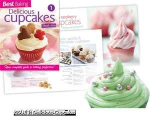 BEST MAGAZINE AND FREE CUPCAKE COOK BOOK FOR ONLY 92p @ ALL NEWSAGENTS!