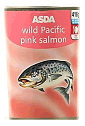 ASDA Pink Salmon Large 418g Tin £1.00