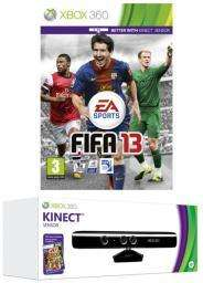 Kinect + Fifa 13 + Kinect Adventures - Xbox 360 - £98.99  @ Grainger Games