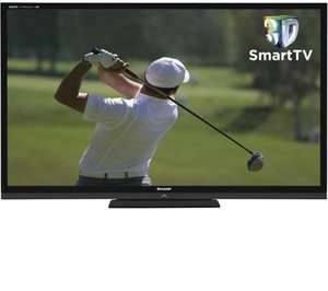"SHARP AQUOS LC70LE836E Full HD 70"" LED 3D Smart TV for £2499 @ Currys"