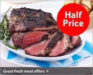 Tesco Finest - 'Beef Joints' Topside, Silverside and Top Rump....Half Price at 'Tesco'
