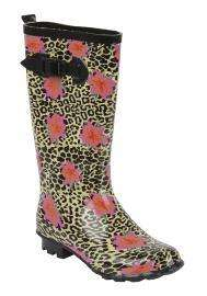 Ladies Leopard Wellies was £12.50 now £4.00 @ Tesco Clothing Online - Use Code WRAPUP (20% off). - Free Delivery To Store and 5% Quidco.