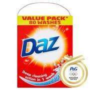 Daz 80 wash (5.44kg) only £5.50 @ The Co-operative Food