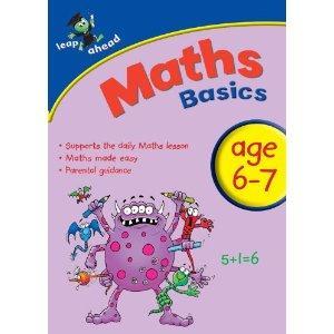 Leap Ahead Maths & English Basics Books 69p Home Bargains