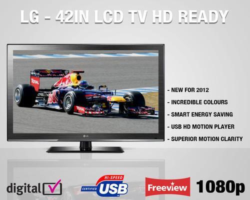 LG 42CS460 42in Full HD 1080p LCD TV Freeview £289.99 @ Ebuyerexpress