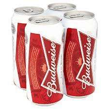 Budweiser 18 x 440ml cans £12 @ ASDA