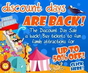 Discount days out to family attractions, up to 50% off @ Wire FM Attractions