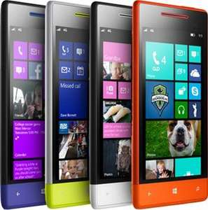 HTC 8S Windows 8 (SIM Free/Unlocked)...All Colours...£220.79 + Delivery @ Handtec