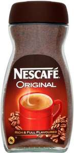 Nescafe Original Coffee (300g) was £7.00 now £4.66 @ Sainsburys