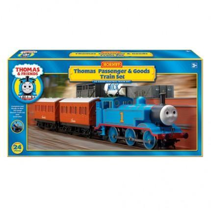 Hornby 1:64 Thomas & Friends Passenger & Goods Electric Train Set - £69.99 @ ModelZone
