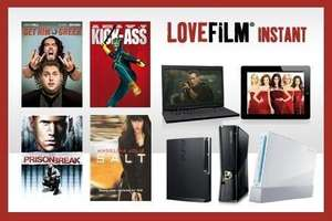 Lovefilm Instant for Six Months £9.98 (60% off) GROUPON