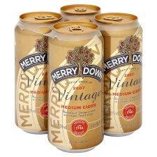 Merrydown Vintage Cider (7.5%) 4 cans @ Tesco